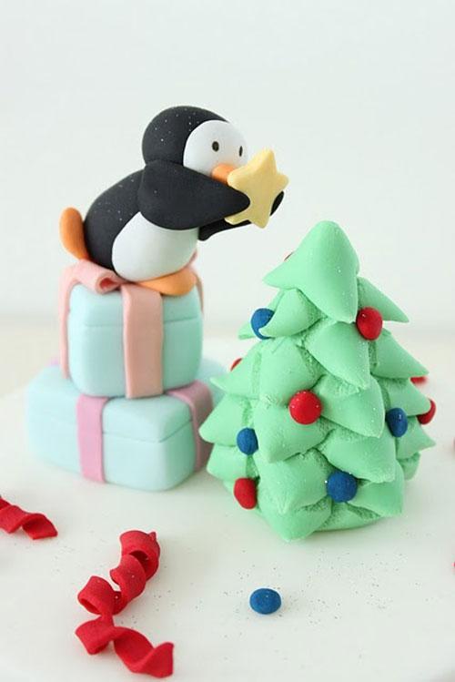 Immagine della torta natalizia n.22