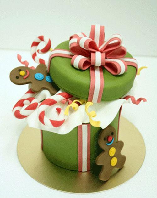 Immagine della torta natalizia n.24