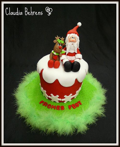 Immagine della torta natalizia n.25