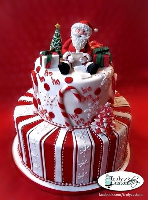 Immagine della torta natalizia n.26