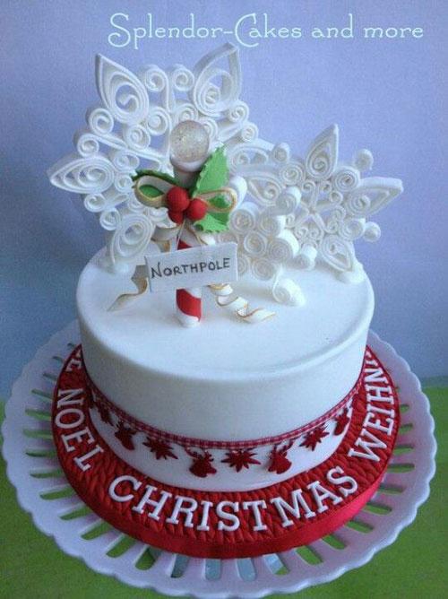 Immagine della torta natalizia n.28