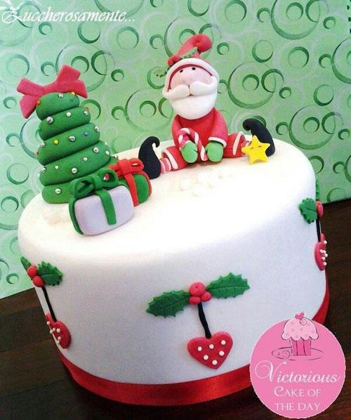 Immagine della torta natalizia n.29