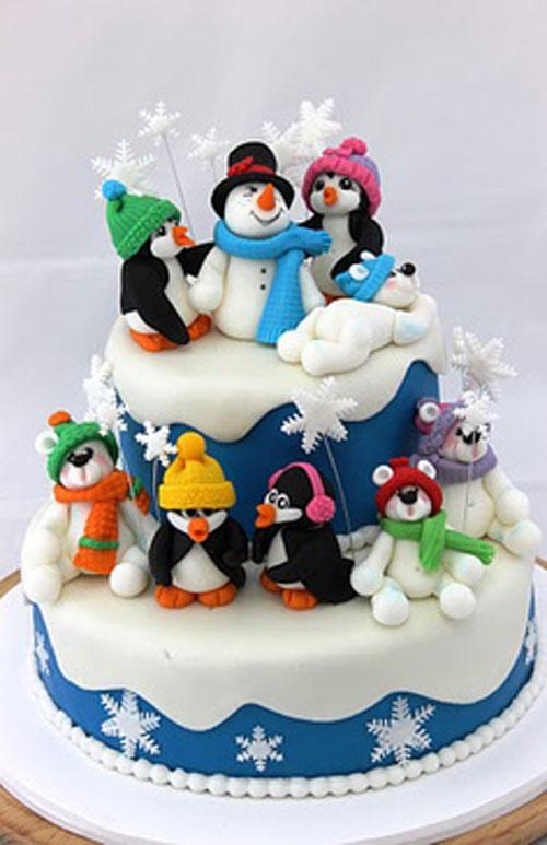 Immagine della torta natalizia n.30