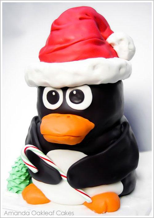 Immagine della torta natalizia n.32