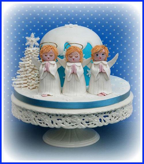 Immagine della torta natalizia n.33