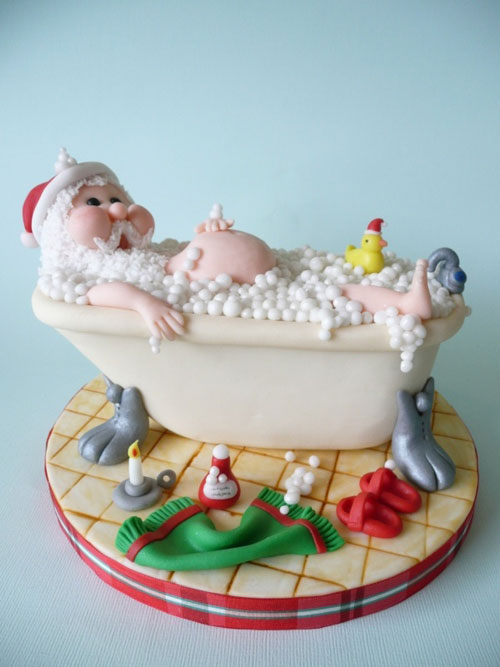 Immagine della torta natalizia n.34