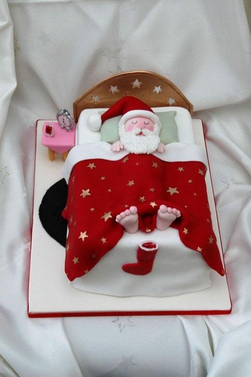 Immagine della torta natalizia n.35