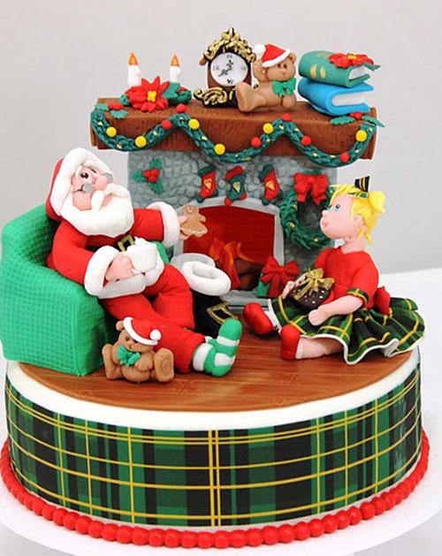 Immagine della torta natalizia n.37