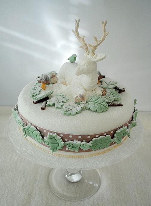 Immagine della torta natalizia n.38