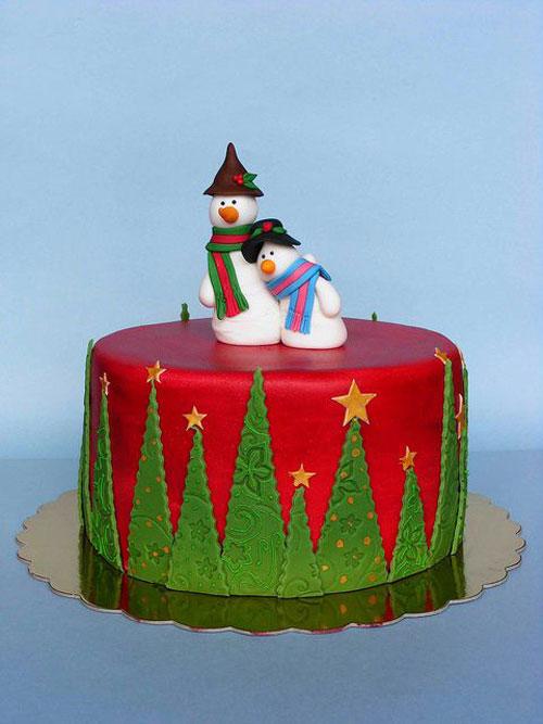 Immagine della torta natalizia n.39