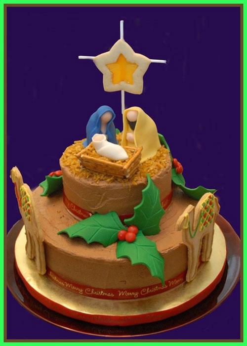 Immagine della torta natalizia n.40