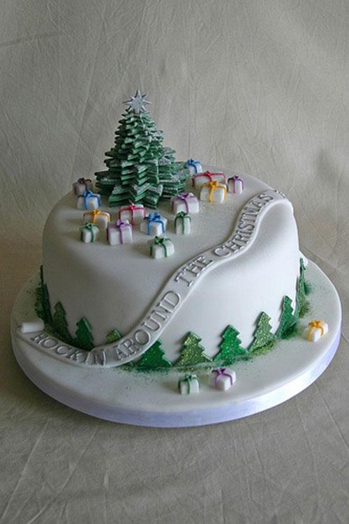 Immagine della torta natalizia n.41