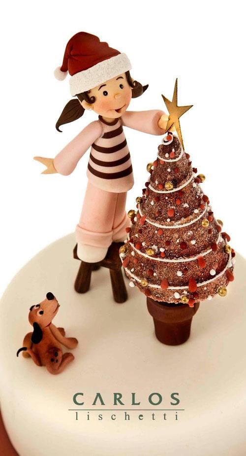 Immagine della torta natalizia n.42