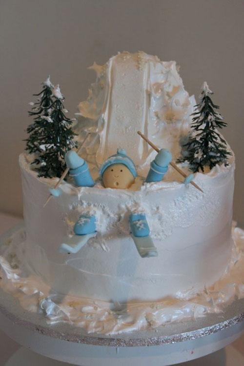Immagine della torta natalizia n.43
