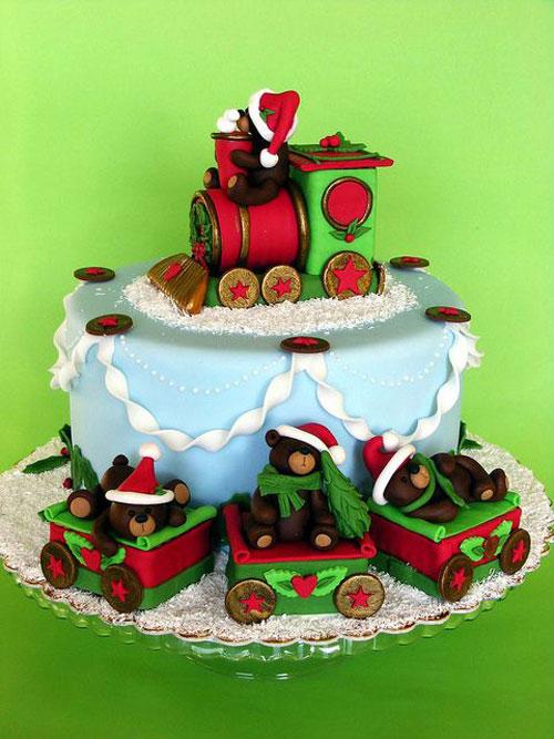 Immagine della torta natalizia n.44