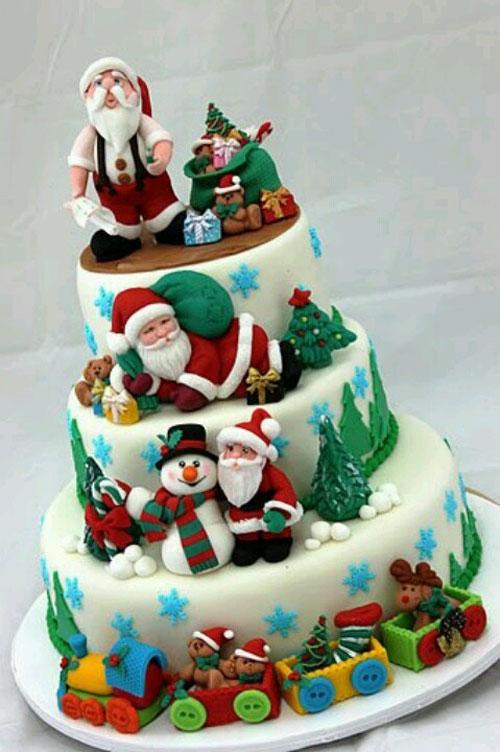 Immagine della torta natalizia n.45