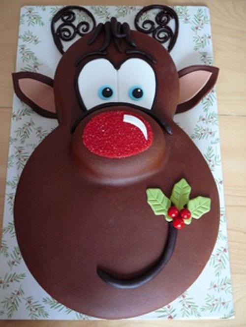 Immagine della torta natalizia n.49