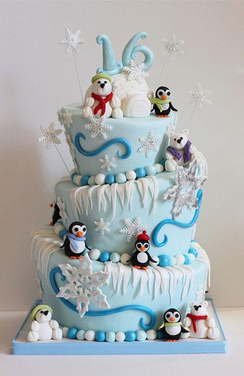 Immagine della torta natalizia n.50