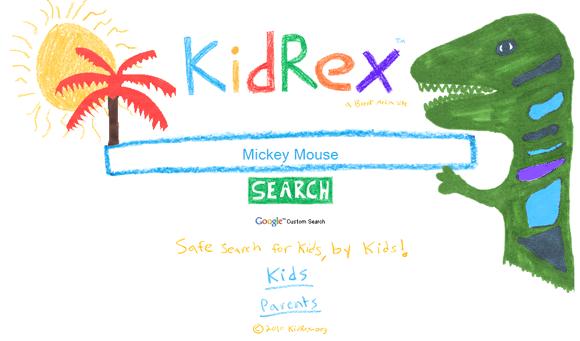 Motore di ricerca KidRex