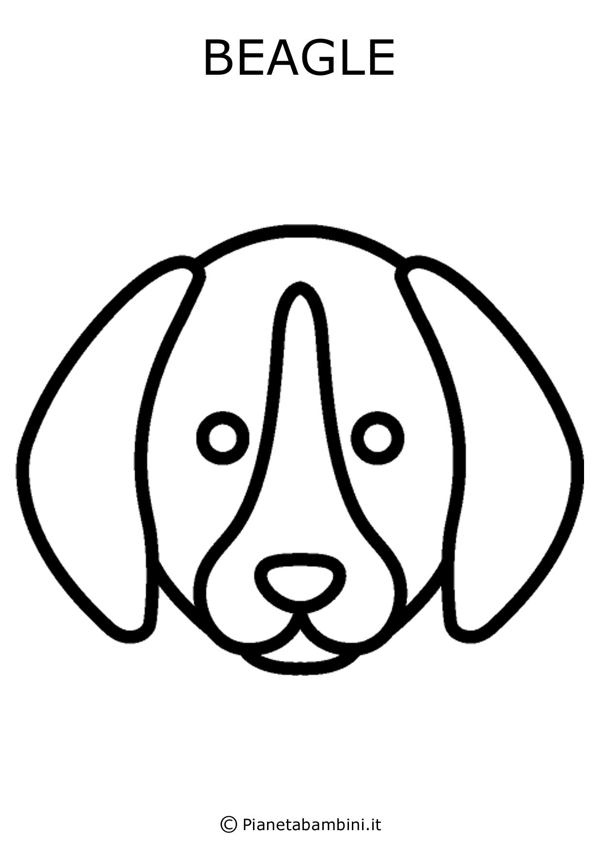 Facce di 81 animali da stampare colorare e ritagliare - Cane da colorare le pagine libero ...