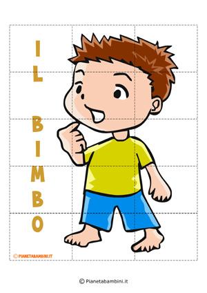 Puzzle del bimbo