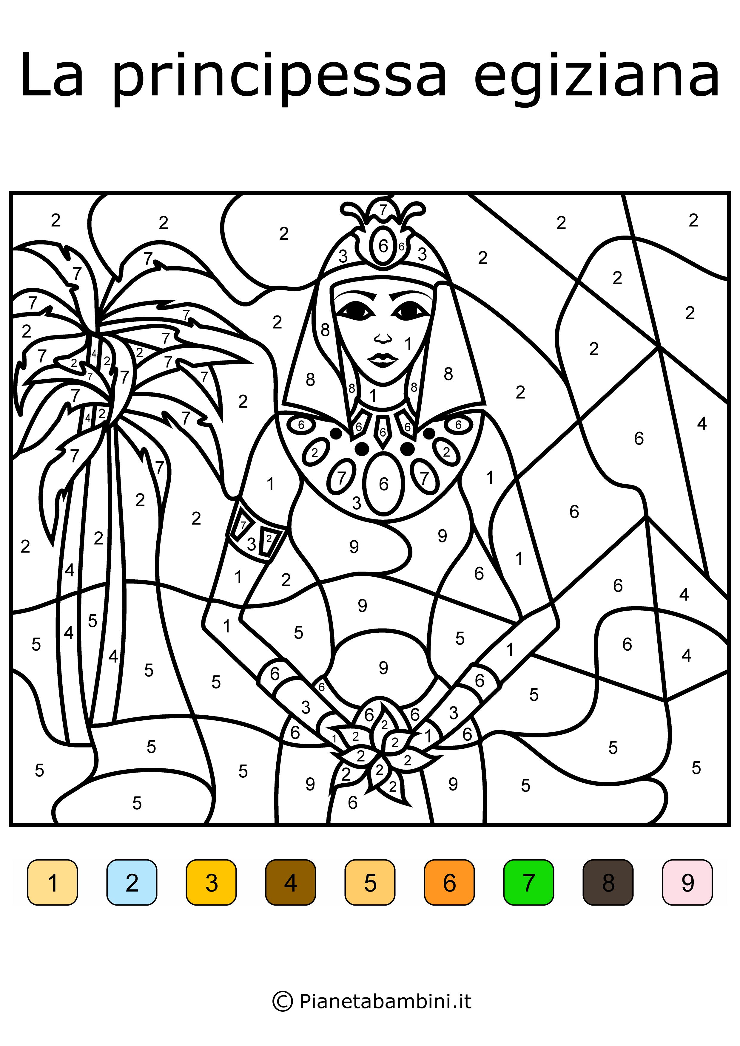Conta-e-Colora-Difficile-Principessa-Egiziana