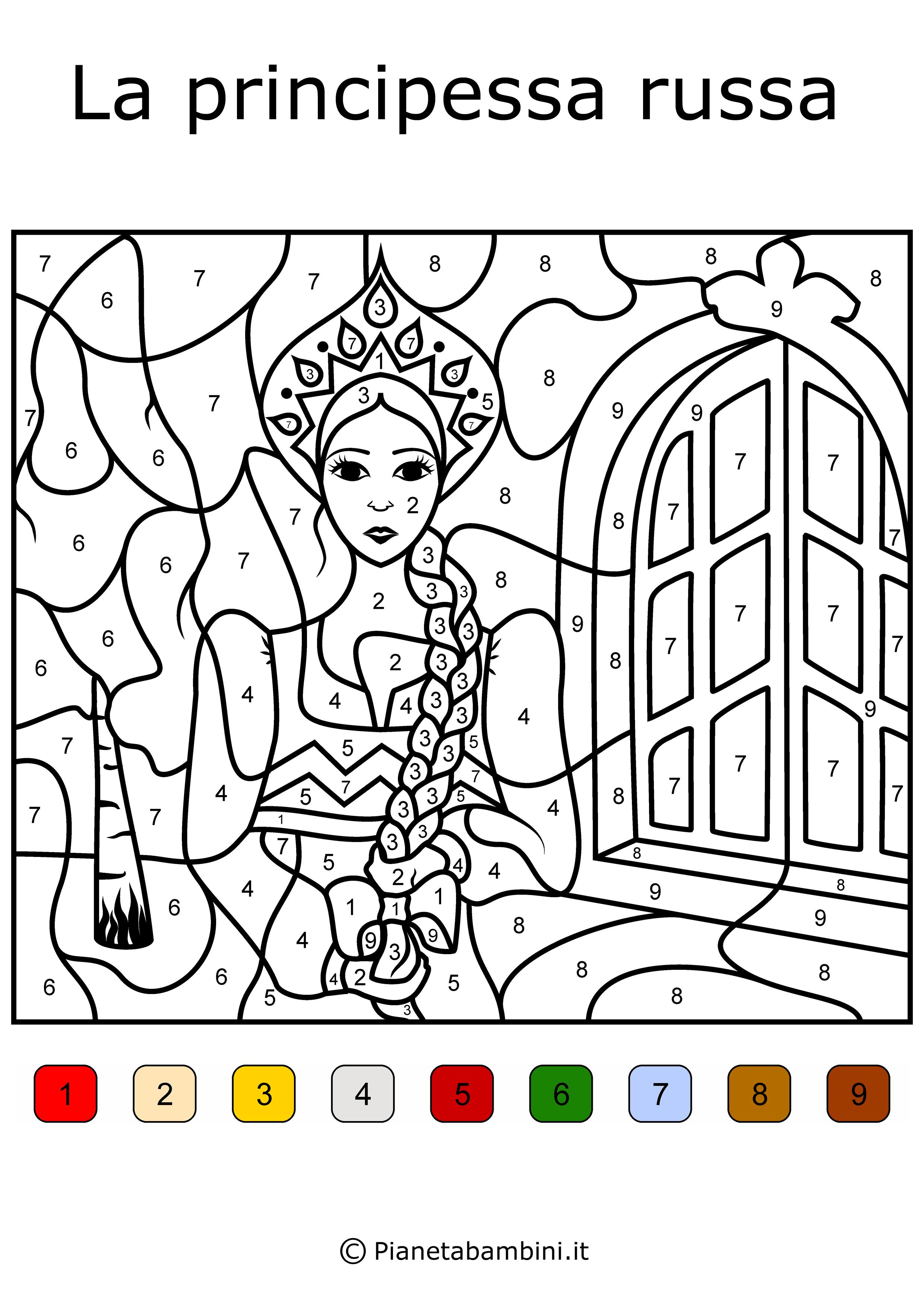 Conta-e-Colora-Difficile-Principessa-Russa