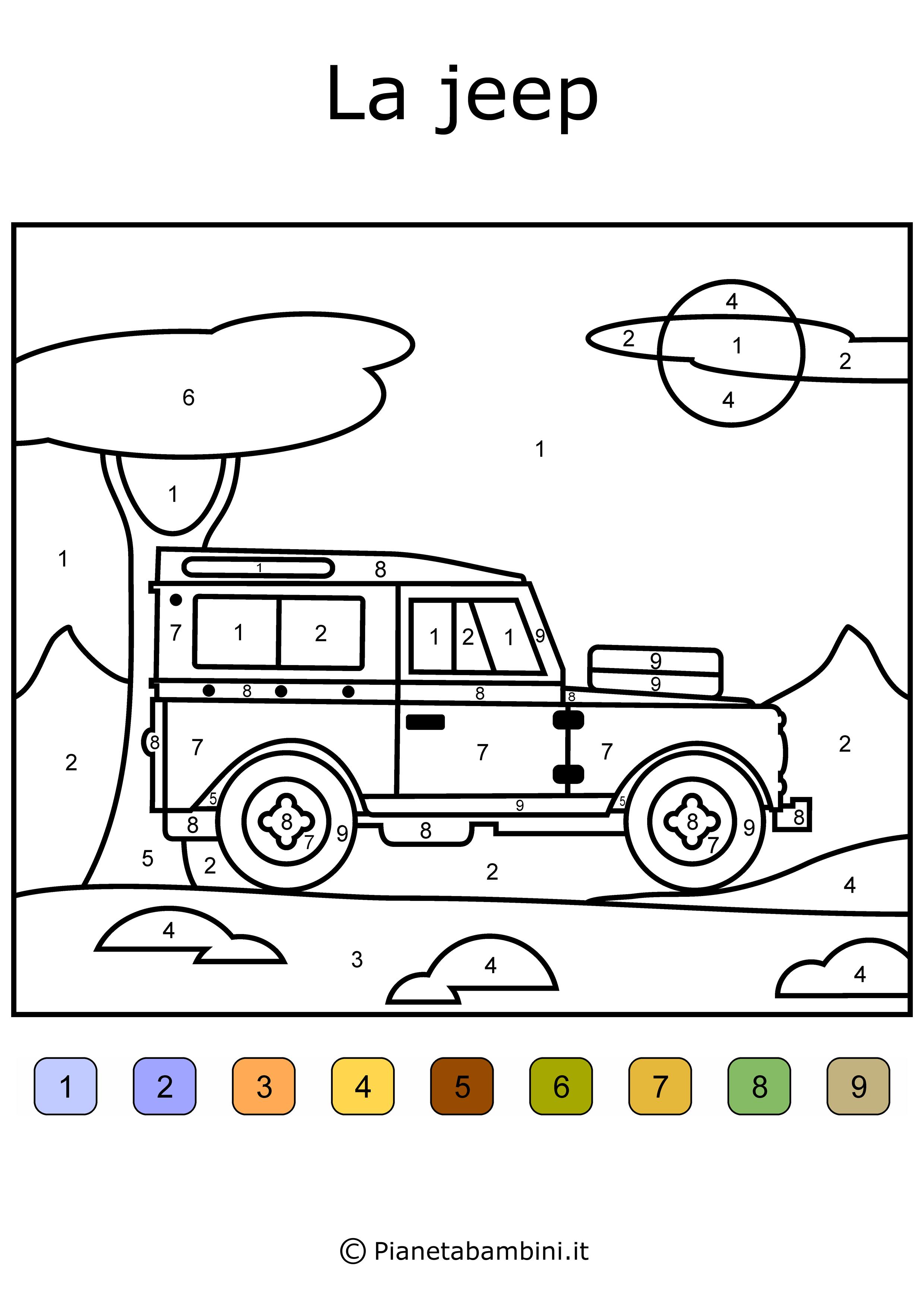 Stampaecoloraweb Disegni Da Colorare Delle Jeep