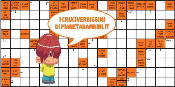 Cruciverba-PianetaBambini.it
