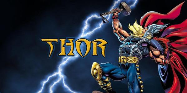 Disegni di Thor da stampare e colorare