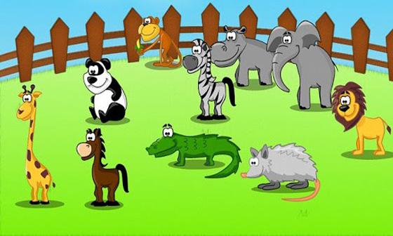 Gioco per bambini indovina l'animale