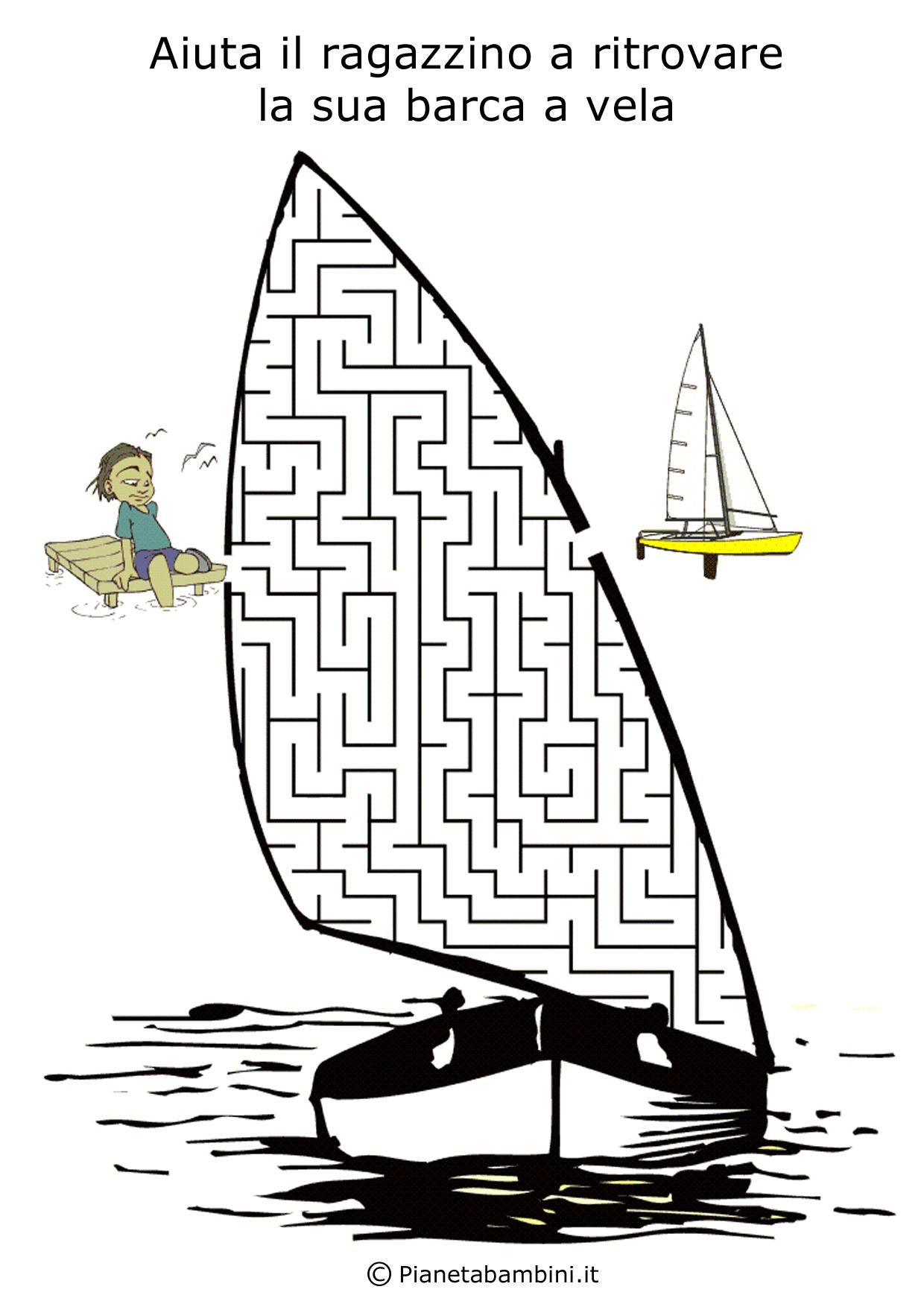 Labirinto-Barca