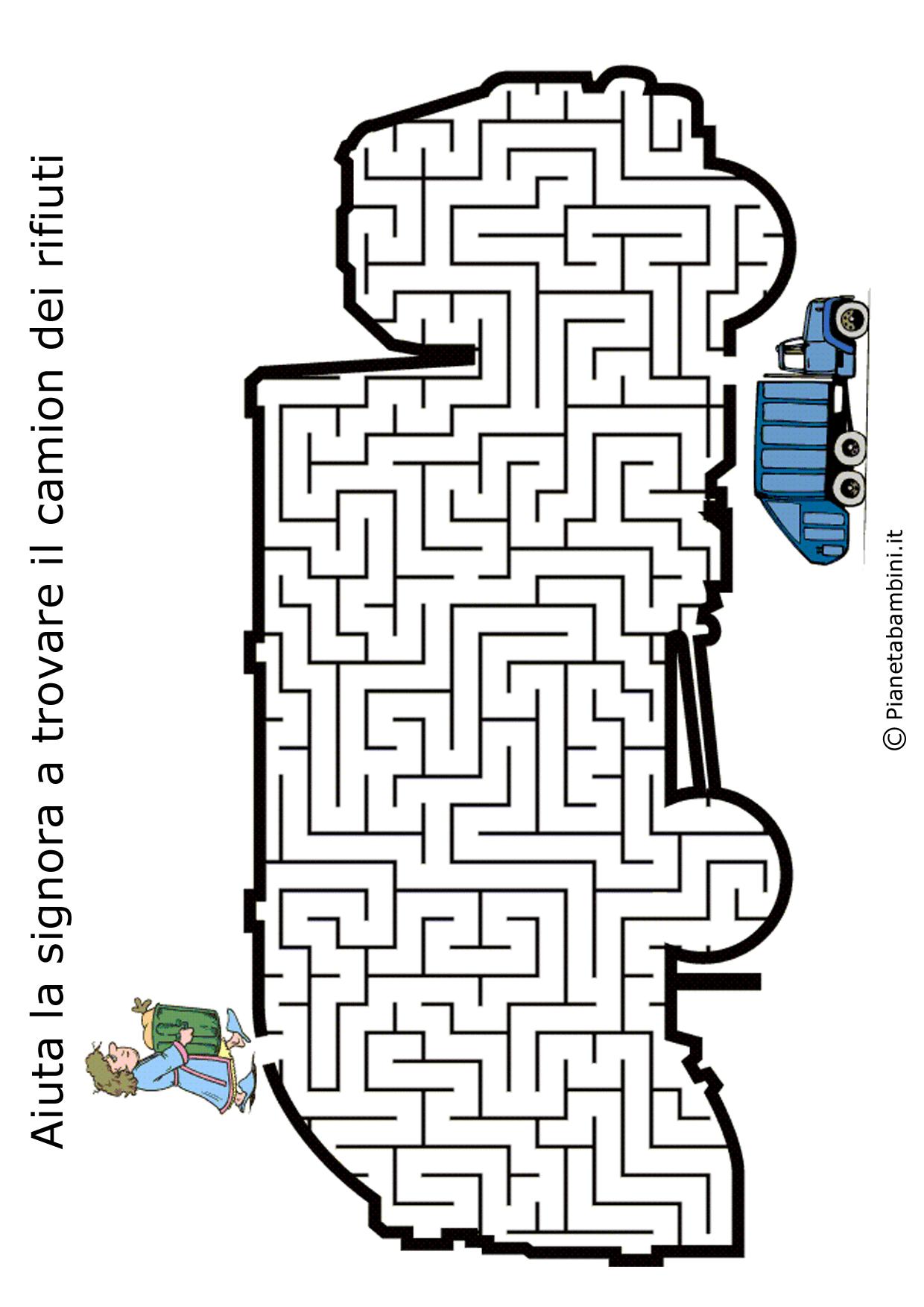Labirinto-Camion