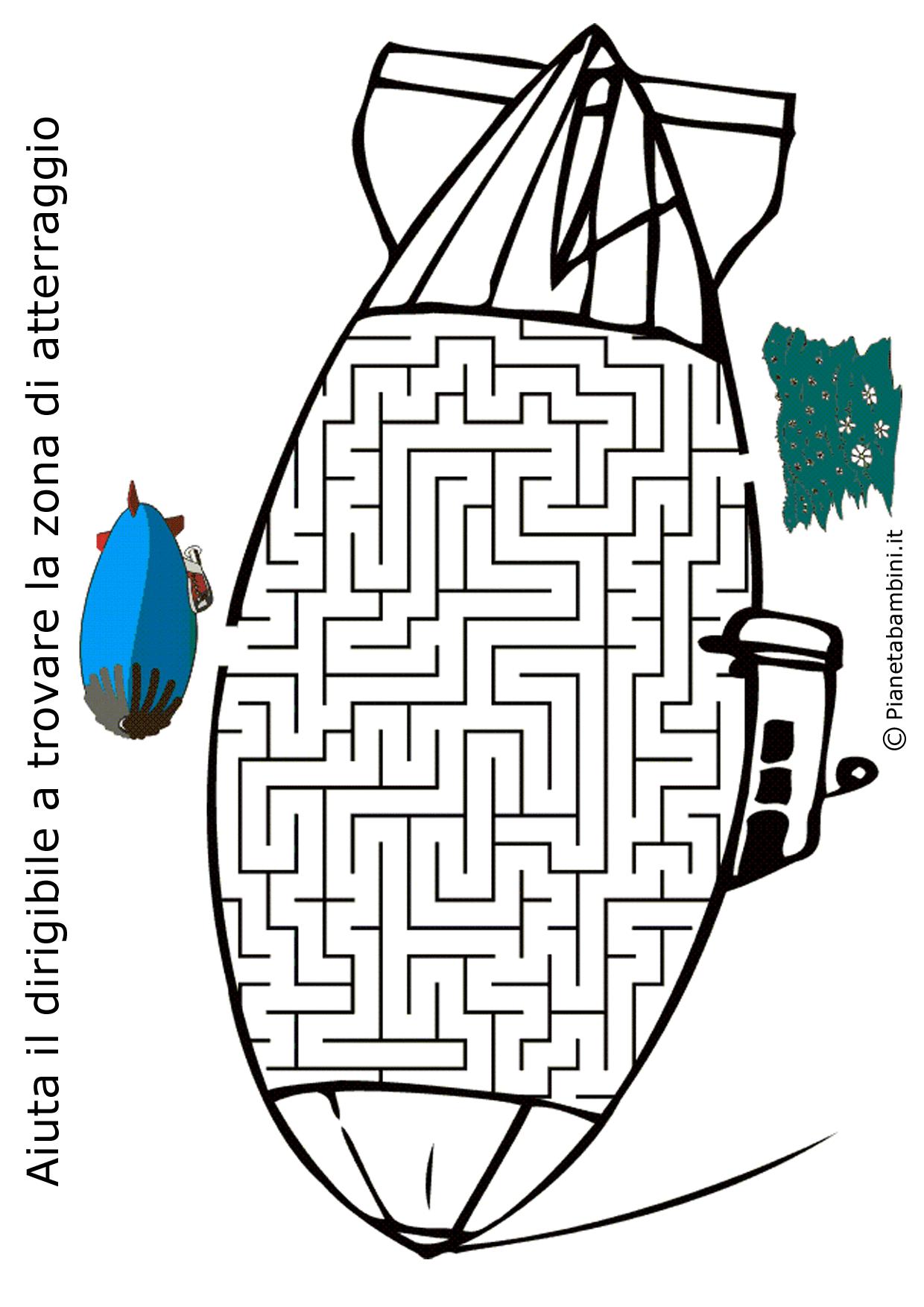 Labirinto-Dirigibile