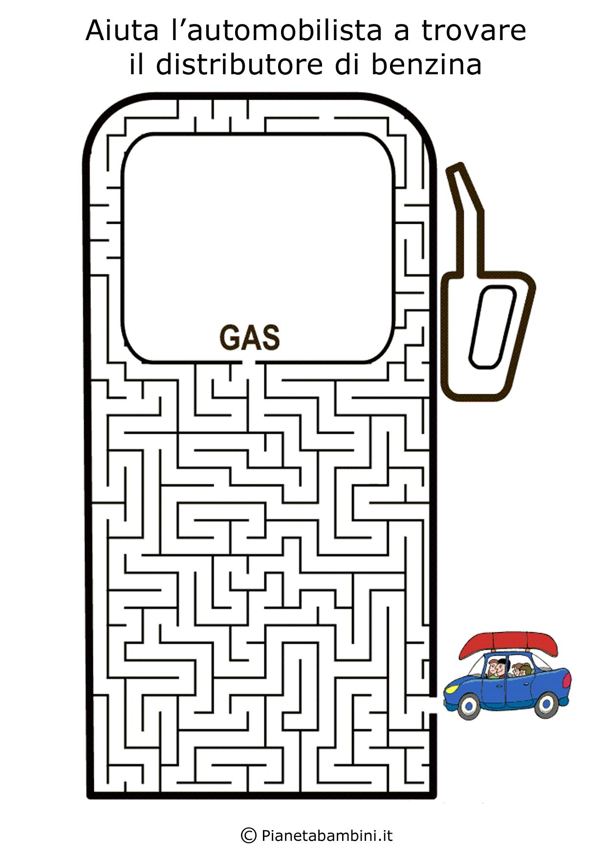 Labirinto-Distributore-Benzina