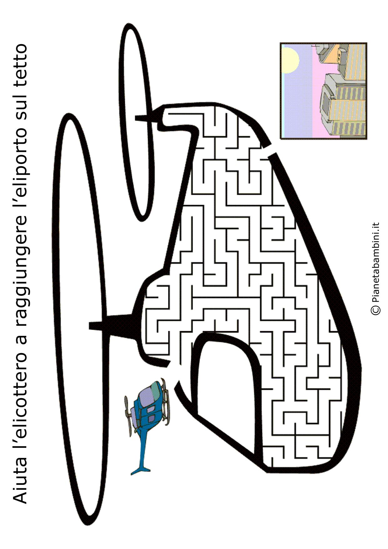 Labirinto-Elicottero