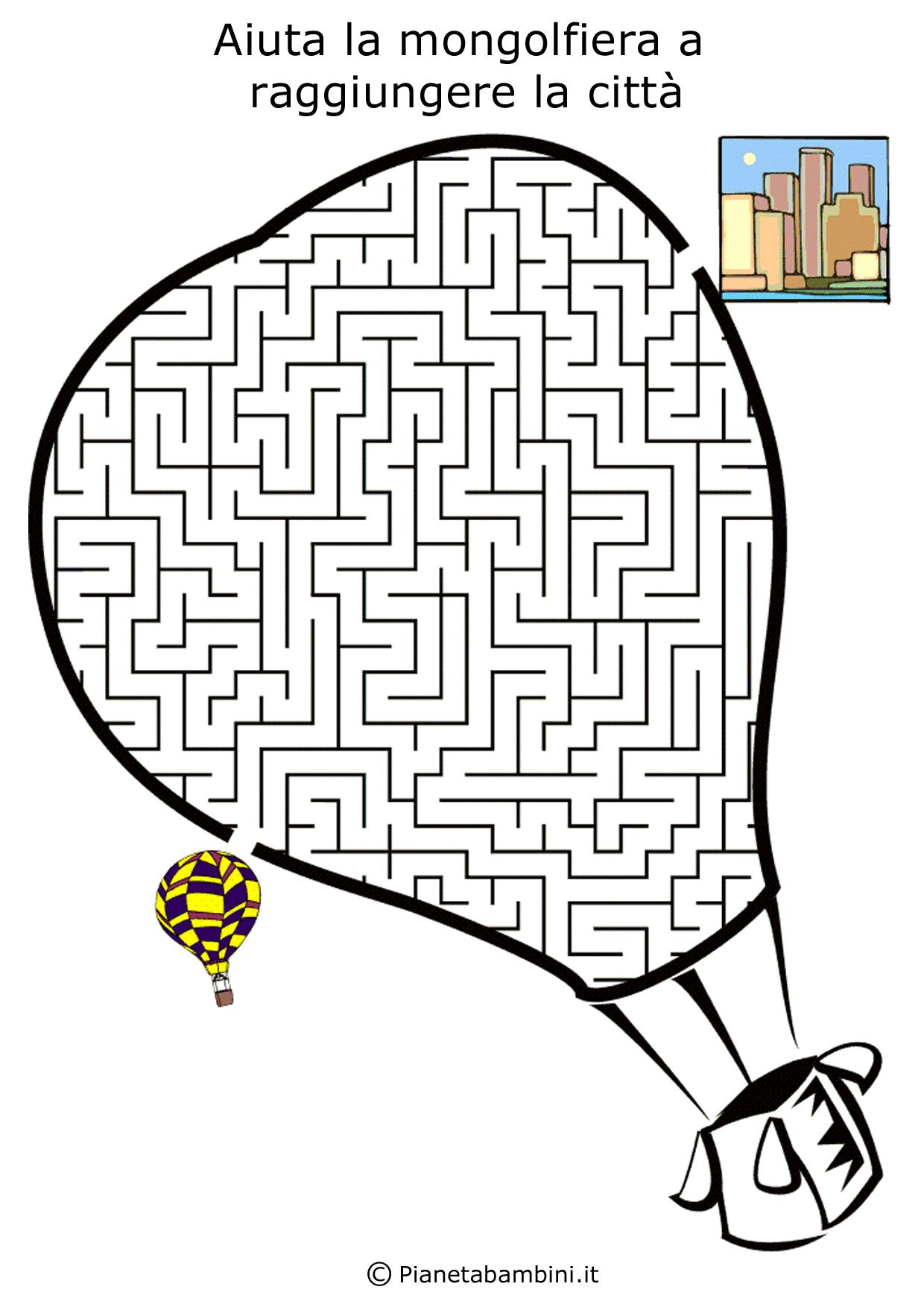 Labirinto-Mongolfiera