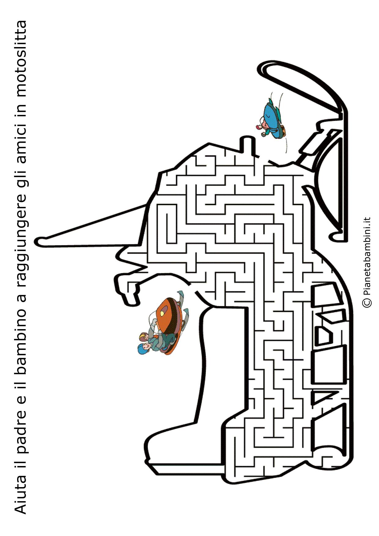 Labirinto-Motoslitta