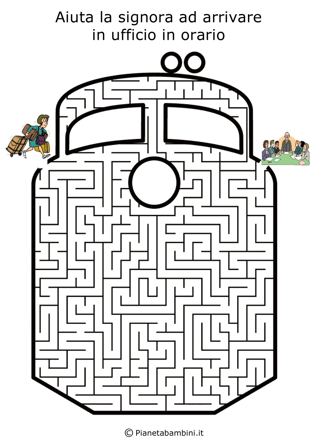 Labirinto-Treno