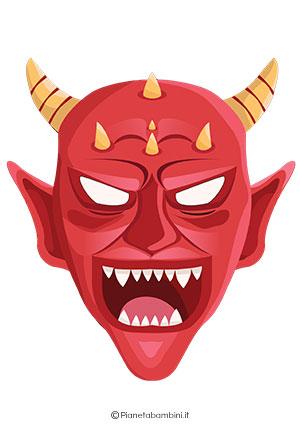 Immagine della maschera da diavolo