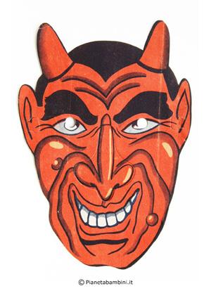 Immagine della maschera del diavolo