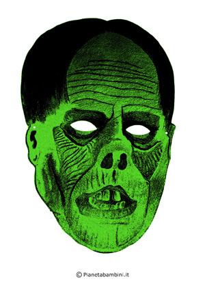 Immagine della maschera del fantasma