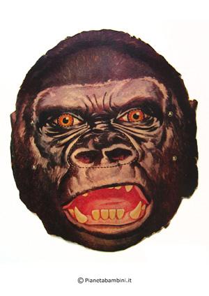Immagine della maschera del gorilla