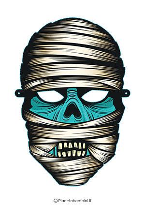Immagine della maschera da mummia