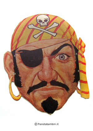 Immagine della seconda maschera del pirata