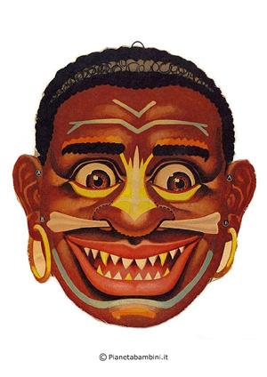 Immagine della maschera del selvaggio