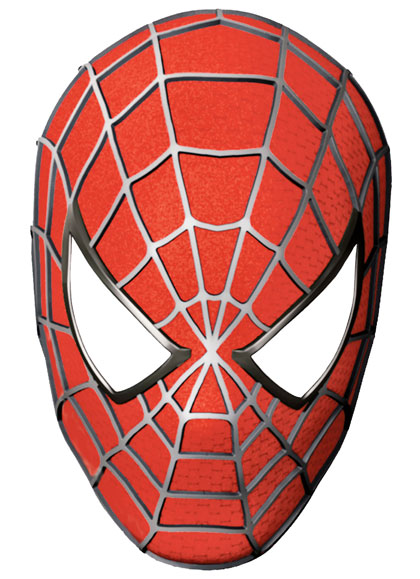 Maschere di supereroi fai da te da stampare per bambini for Maschere da colorare spiderman