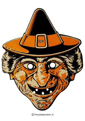 Immagine della seconda maschera della strega