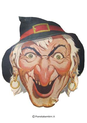 Immagine della maschera della strega