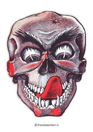 Immagine della maschera del teschio